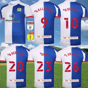 Blackburn Rovers Football Jersey 2020 21 9 10 Gallagher HOLTBY 20 BRERETON 23 chemise de DACK 26 LENIHAN Football