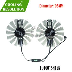 FD10015H12S DC12V 0.55AMP 4PIN مروحة الرسومات لغاينوارد GTX1080 GTX 1080 GTX1080Ti GTX 1080Ti