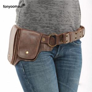 Pin On Waist Hip Packs Pouch Bag Viking Pocket Belt Leather Wallet Travel Steampunk Fanny Gear Accessory Cosplay For Women ZiDS#