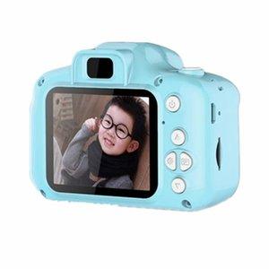 كاميرات الفيديو مصغرة الكاميرا الرقمية لعب للأطفال 2 بوصة hd الشاشة القابلة للشحن الدعائم قنوات الطفل لطيف الطفل هدية عيد في الهواء الطلق