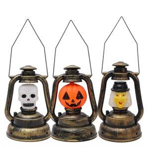 Фестиваль призрак Керосин Хэллоуин тыква маленькая лошадь бар призрак украшение дома Керосиновая лампа ночной свет ночника Bpzey