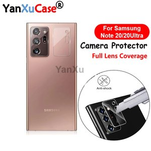 Şeffaf Arka Kamera Lens Koruyucu temperli cam için Samsung Galaxy Note 20 Ultra Note10 + 9 8 S20 Ultra S10 5G S9 S8 Ekran Koruyucu Film