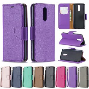 For LG K51 Case Cover Solid Color wallet Case Luxury PU Leather Wallet Case Flip Folio Cover with Card Slots and Pockets LG K40 k61 k50