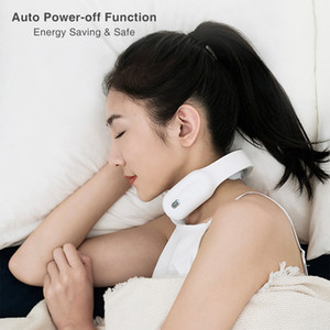 Neck Massager Hot Compress Shoulder Pain Relief Tool Smart Cervical Massage Health Care Relaxation Vertebra PhysiotherapyRabin