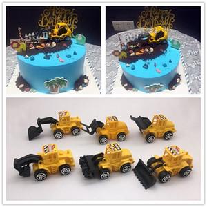 공급 굴삭기 케이크 장식 롤러 굴삭기 DyaC5 베이킹 어린이의 창의적이고 롤러 액세서리 케이크 장식 장식품