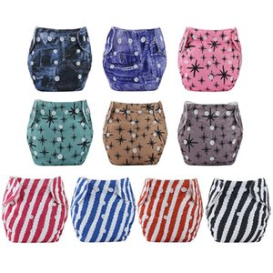 1pc Baby Cotton Training Pants Panties Reusable Cloth Diapers Washable Adjustable Nappies Infants kids Underwear Nappy Changing
