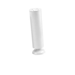 Mobili Mobili metallo Leg Acciaio inossidabile Armadio Contenitore Metallo Leg Divano Leg letto mobili / TV Cabinet piede -Bianco