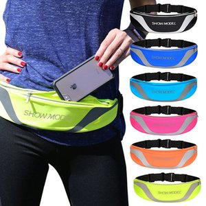Fanny Pack Waterproof Waistband Pouch Bag Case Running GYM Sport Arm Band for Iphone 6 6s 7 8 Plus X Phone Cases Cover