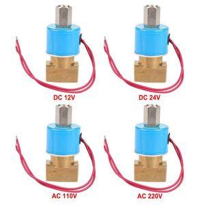 """Magnetventil DC12V / 4 \ """"BSPP normalerweise 3-Wege direkt wirkenden Messing Solenoidventils N C 0-0 IP65 9 MPa für Wasser Luft und Gas"""