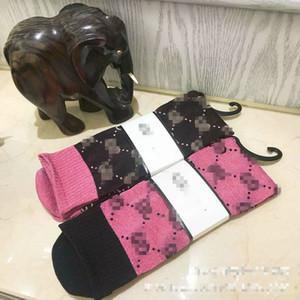 erkek kadın tasarımcı çorap socking şeker renk mektup kazık yığın kadın çorap moda trendi çok renkli vahşi pamuk çorap 603