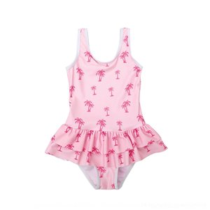 MyKug Rock bietet Pengpeng Verkauf einteilige süße nette kleine Mädchen Rock-Badeanzug Princess heiß Spezieller Pengpeng Badeanzug Kinder