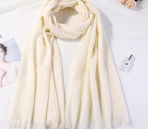 2019 new hollow hanb wool scarf autumn and winter female office air-conditioned rooms oversized cashmere shawl scarves