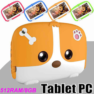 Kids Tablet 7 Inch 512 RAM+8GB ROM Babypad PC Andriod 4.4 with WiFi Camera Bluetooth and Game GMS