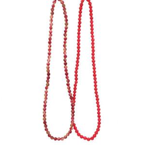 "Multilayer Strand Bracelet Natural Stone Jades Tourmaline Crystal 6mm Round Beads Elastic Rope Bracelets Bangle Jewelry 21"" A976"