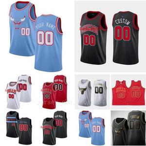 2020 Custom men basketball jersey ChicagoBullsAny name and number Swingman basketball Jersey