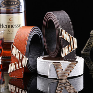 carta de marca Cinturones de mujeres Jeans correa de 2020 Nuevo V enuine Diseñador correa de cuero de los hombres de lujo famosos de la pretina de alta calidad