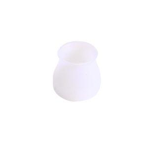 16pcs Anti Slip Furniture Leg Protector Office Silicone Caps Chair Floor Round