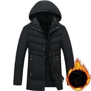 Winter Jacket Men 2019 Casual Warm Thick Fleece Parkas Men Outwear Windproof Windbreaker Hooded Parkas Manteau Homme