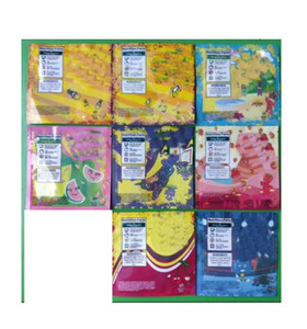 500mg sans odeurs Mylar Sac 3 côtés scellé plat Pouch Nerds corde infusé gummies exotiques 420 710 emballages edibles