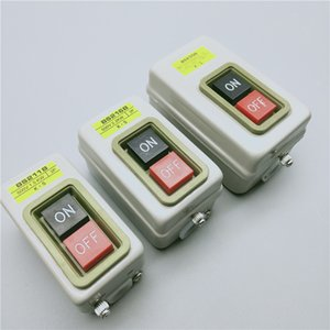 Power Control Button Switch Three-phase Motor Start Button and Press Switch BS211B 216B 230B 1.5 2.2 3.7KW