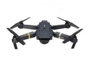 2020 New Remote control drone 4-axis headless mode altitude hold Folding UAV (WiFi+ camera 480P) drone