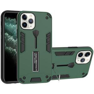 Phone Case 2in1 antiurto Staffa per iPhone Pro 11 XS Max XR 7 8 Samsung A11 Nota caso 20 S20 LG K51 mobile