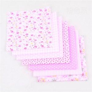 25 * 25 cm carré de tissu de coton Petit Floral tissée Tissu en coton imprimé bricolage main Patchwork Needlework Décoration HHB1676