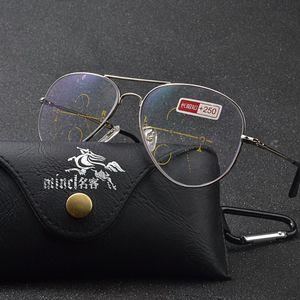 Многоочаговых Reading Glasses Мужчины сплав Frame Марка негабаритного Мужская Pilot очки Женщины Очки для NX