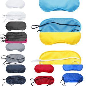 Soft Sleep Mask Blindfold Sleeping Shade Cover Blinder Eyes Patch Eye Care Protection Christmas Giftin Stock13255