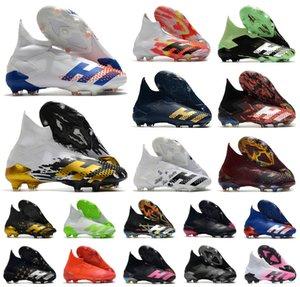 2020 Sapatos Predator modificador 20 + FG InFlight SKY MATIZ PP Paul Pogba Homens Meninos Deslizamento-no Soccer Football 20 + x Grampos botas de tamanho 39-45
