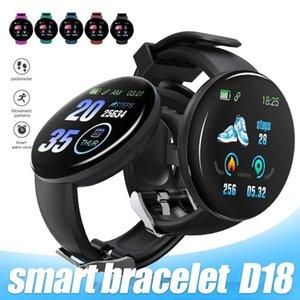 D18 Smart Bracelet Fitness Tracker Smart Watch Blood Pressure Wristband IP65 Waterproof Heart Rate with Retail Box