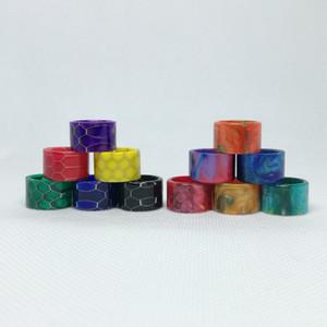 Top Quality resina epossidica di serpente della pelle in resina Drip Tip per TFV8 bambino V2 Stick V9 Max TFV16 serbatoio