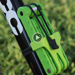 TY3881-B da bicicleta Folding Fazer a ligação Placa fechamento com chaves de segurança anti-roubo