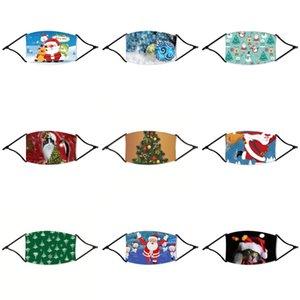 Cara Navidad Reutilizable Navidad PM2 # 151 para la válvula de aliento Contaminación Anti Masks Partículas Polvo Protector de filtración Máscara DUS LJXAW