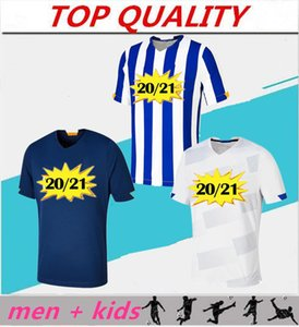 Homens + Kits Kids 20 21 Alex Telles Otavio Felipe Augusto Soccer Jersey 2020 2021 Camisas de Futebol Brahimi Shoya Danilo Camisas