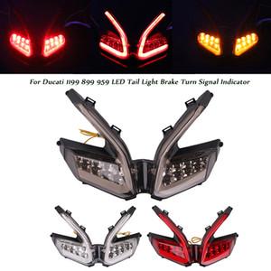 Motosiklet LED Arka Lamba Fren 899 959 1299 Panigale 1199 için Sinyal Gösterge Yenileme Tarihi Seti Emniyet Arka Lambaları çevirin