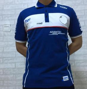 F1 Formula AMG takımı BMW kısa kollu yaka DINGZHI tişört Polo yeni erkek kısa kollu çabuk kuruyan polyester forması