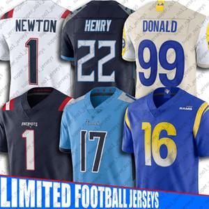 Cam Newton Julian Edelman Jersey Jared Goff Aaron jerseys Donald Derrick Henry Ryan Tannehill Jersey Nueva Inglaterrajerseys de los patriotas