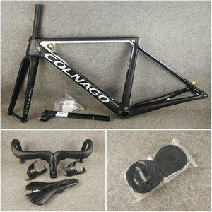 pacchetto di trasporto libero per la vendita T1100 UD Colnago V3Rs Disc strutture della bici della strada del carbonio del manubrio Scopare Portaborracce biciclette Disk Frameset