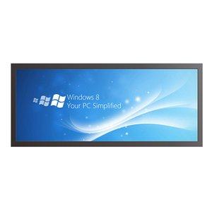 20.3 인치 울트라 와이드 뻗어 바 LCD 디지털 사이 니지 슈퍼마켓 선반 에지 스크린 디스플레이 크기 476x198mm