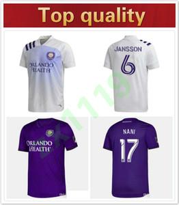 Melhor qualidade casa 2020 MLS Club Orlando City fora de Futebol 19 20 # 10 COLMAN J. MENDEZ futebol shirt DWYER NANI Football Uniform