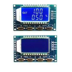 2 Pieces Signal Generator PWM Pulse Frequency Duty Cycle Adjustable Module LCD Display 3.3V-30V