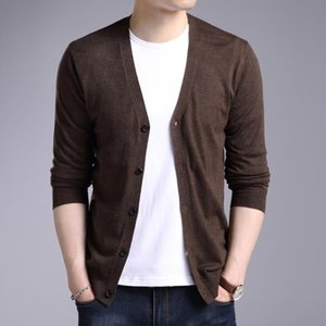 Triko Erkek İlkbahar ve Sonbahar 2020 Yeni Stil MEN'S Örme Hırka Trend origional Tasarım Triko Coat