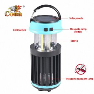 Led uv Mosquito repellent lamp portable tent light cob handle solar 4 modes torch usb rechargeable built-in battery adjustable 0gXc#
