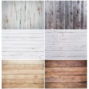 Photographic Backdrop White Wooden Broad Wall Vinyl Cloth Photobooth for Photo Studio Baby Children Photophone Camera Photo