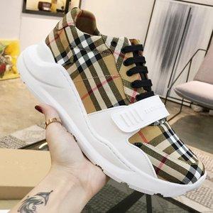 Herren Schuhe Weinlese-Überprüfungs-Baumwoll Sneakers Casual Schuhe hommes Sportlich Fußbekleidungen Männer Mode Schuhe Art Gummi Soles Schnelle Lieferung gießen