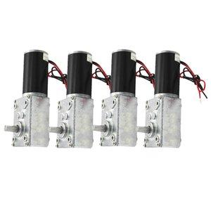 모터 DC 감소 모터 160RPM 기어 12V 가역 높은 토크 터보 웜, 4 팩