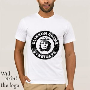 Engraçado Hillary Rodham Clinton Distressed Camiseta