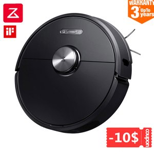 Roborock S6 Robot Vacuum Cleaner Automatic Sweeping Mopping Dust Sterilize 2000PA Home Smart Planned Machine APP Remote Control