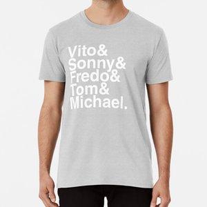 Vito Sonny Fredo Tom Michael (Il Padrino) Shirt T Padrino Corleone Crimine Film Michael Vito Don Mafia mafioso
